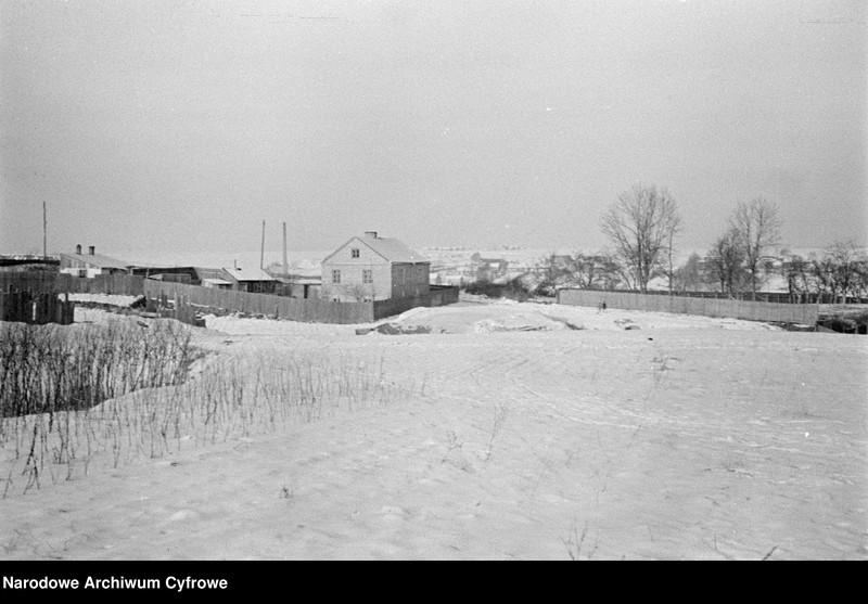 Okładka folderu Lublin zimą - nierozpoznane gospodarstwo