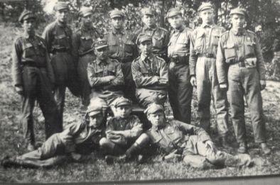 Okładka folderu Harcerstwo kaliskie w okresie międzywojennym
