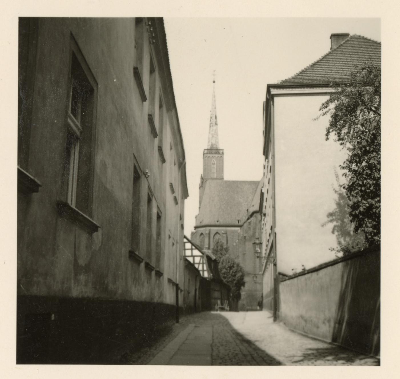 Okładka folderu Archiwum Państwowe we Wrocławiu