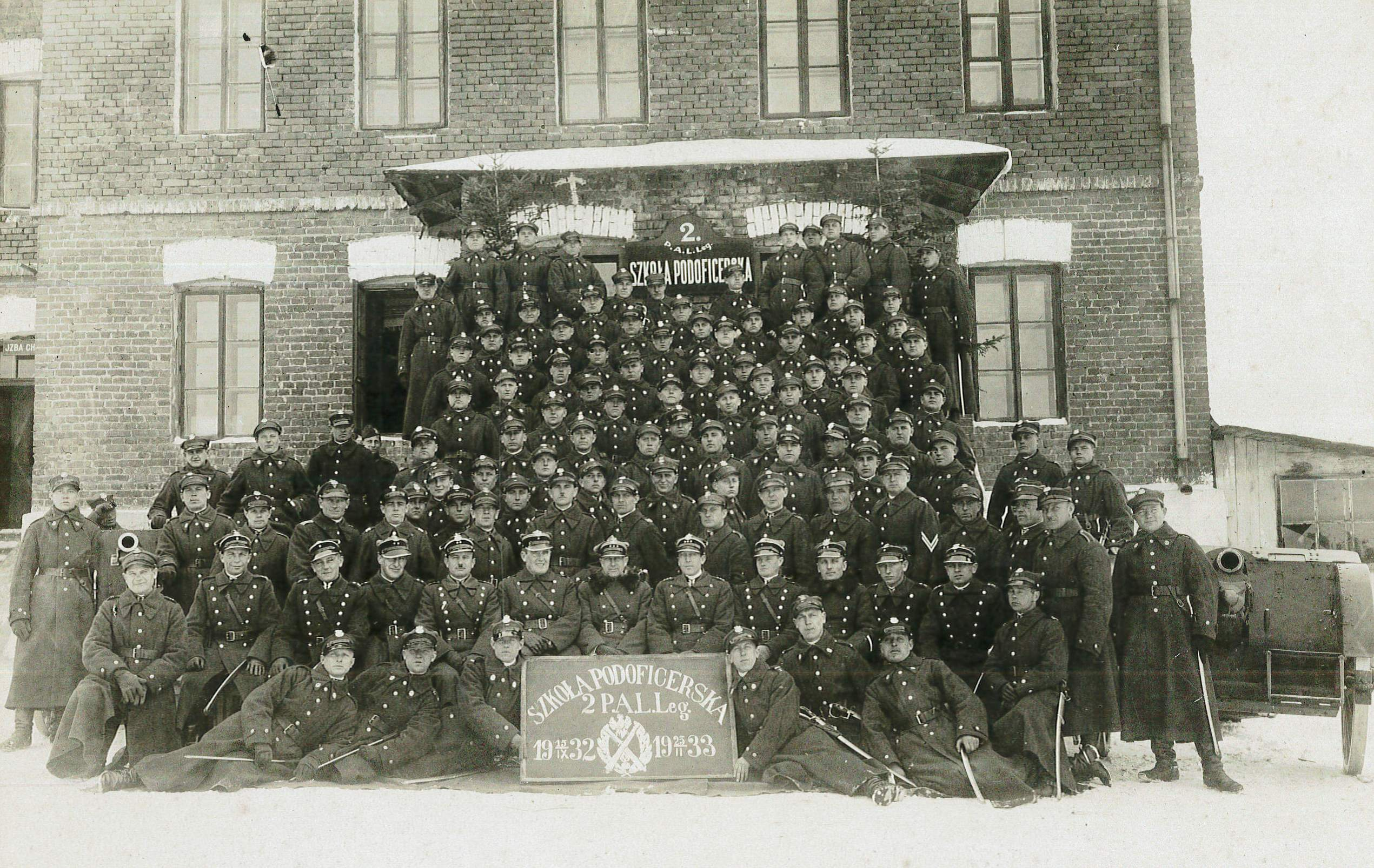Okładka folderu Zdjęcia 2 Pułku Artylerii Lekkiej Legionów